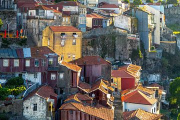 Stadsgezicht Porto van Rob van Esch