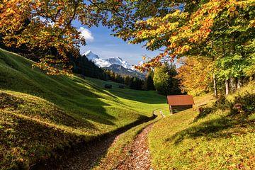 Herfst in Opper-Beieren van Achim Thomae