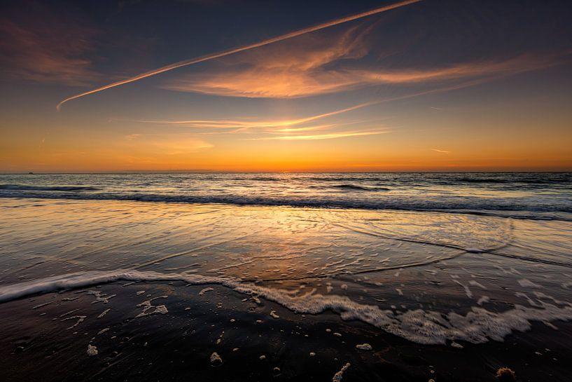 Zonsondergang op Schiermonnikoog van Jacques Jullens