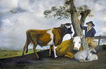 De stier van Potter von Jan Wiersma