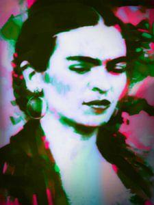 Frida Kahlo Colourful Pop Art PUR