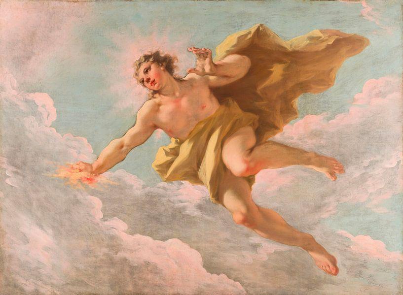 Apollo, Giovanni Antonio Pellegrini von Meesterlijcke Meesters