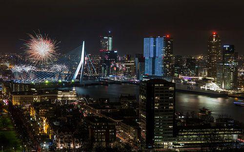 Nationaal Vuurwerk 2015 in Rotterdam van MS Fotografie