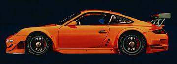 Porsche 997 GT3 RS CUP Seitenansicht von Jan Keteleer