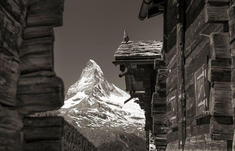 Weiler Findelen mit Matterhorn von Menno Boermans