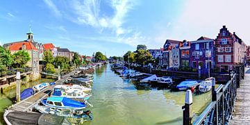 Hafen von Dordrecht Niederlande von Hendrik-Jan Kornelis