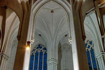 Stevens-Kirche bei Nacht von Lex Schulte