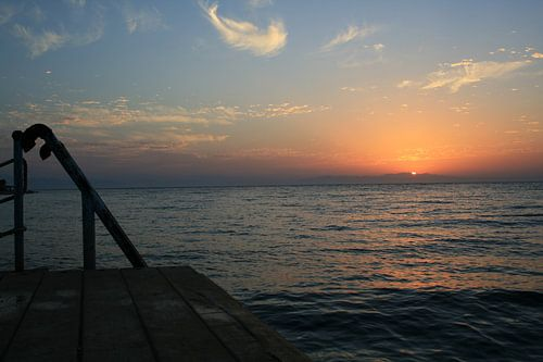 Dahab (goud) van opkomende zon