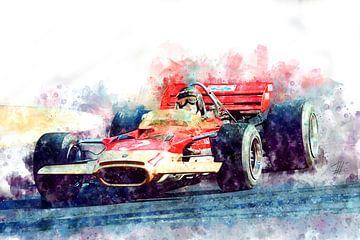Jochen Rindt, Lotus nr. 3 van Theodor Decker