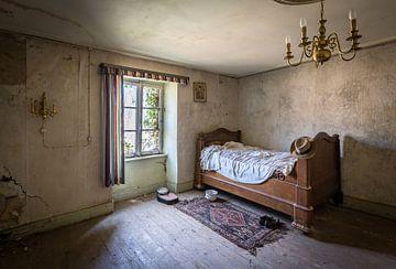 Das Bett und der Hut von Inge van den Brande