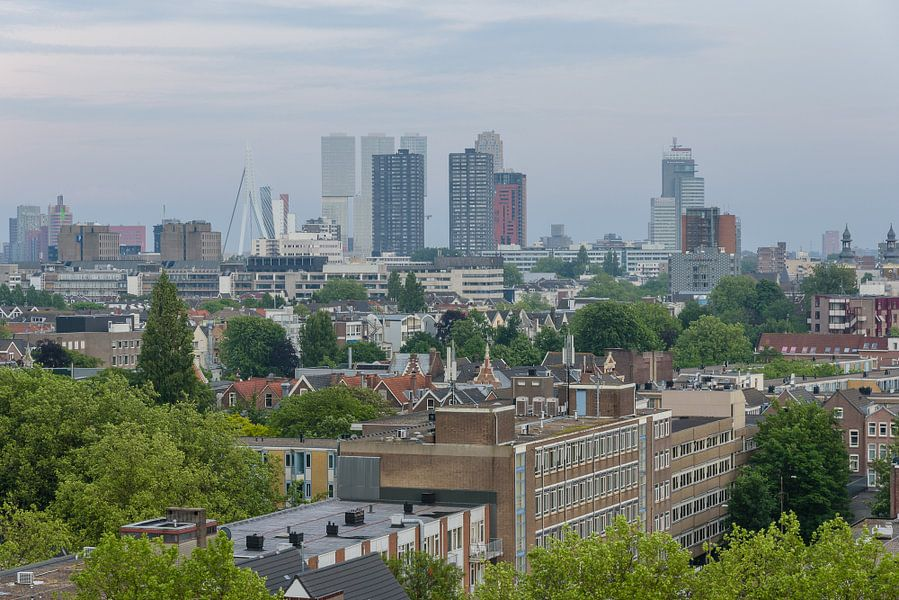 Rotterdam Netherlands  stadsgezicht van Martin Stevens