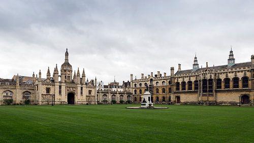 King's College Cambridge van