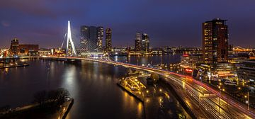 Erasmusbrug  Rotterdam van René Rollema
