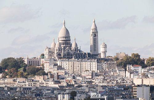 De Basiliek van Sacré-Coeur in Parijs van
