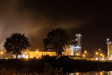 Chemische industrie 's nachts sur Steven Van Aerschot