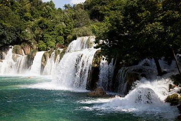 Schoonheid van een waterval 2 van Daan Ruijter