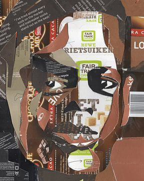 Lukas en de herinnering aan rietsuiker en cacao van Ruud van Koningsbrugge