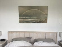 Photo de nos clients: regenboog bij oostkapelle zeeland sur anne droogsma, sur toile