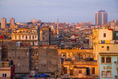 Zonsondergang in Havana