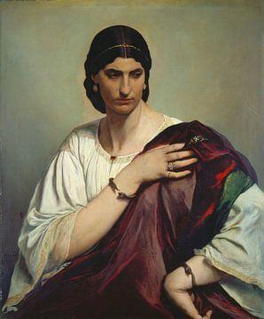 Anselm Feuerbach~Porträt einer römischen Frau