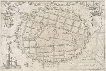 Karte der Stadt Utrecht, anno 1670, Anthonie de Winter, 1670