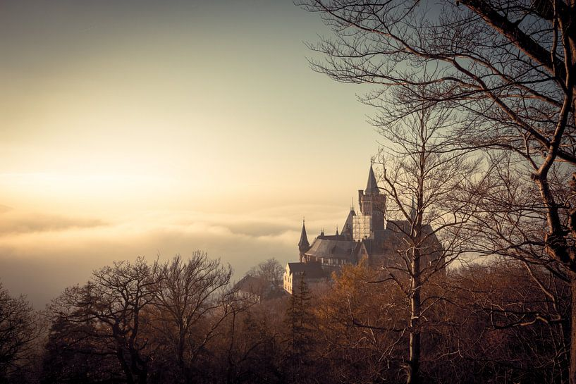 Das Märchenschloss Wernigerode von Oliver Henze