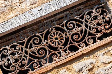 Clôtures décoratives en fer forgé rustique sur Wil Wijnen