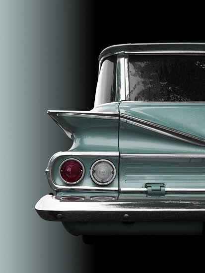 Amerikaanse klassieke auto 1960 Park Wood