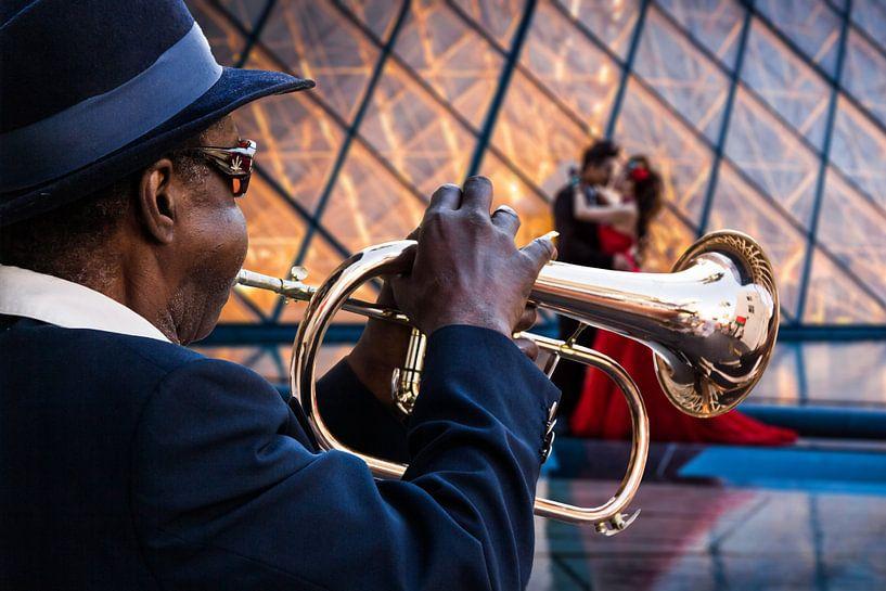 Trompet a-go-go van Xlix Fotografie