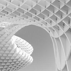 Parasol in Sevilla van Corrie Ruijer