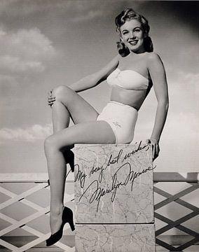 Pinup Marilyn Monroe, frühes Foto von Atelier Liesjes