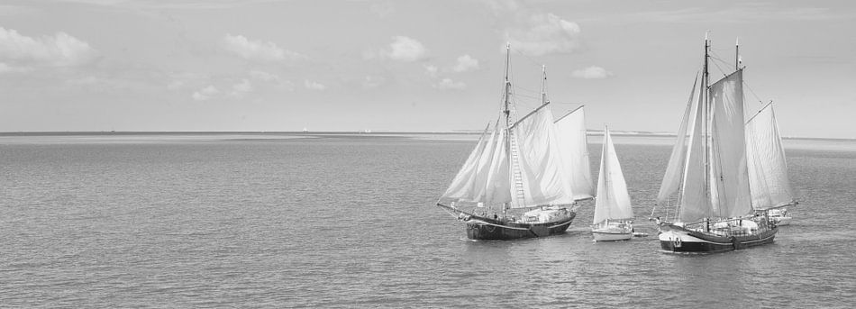 Zeilschepen. van Piet Haaksma