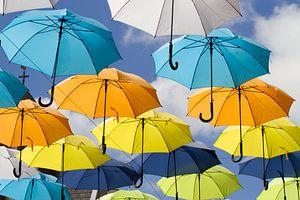 Paraplu's in alle kleuren en maten van Irene Lommers