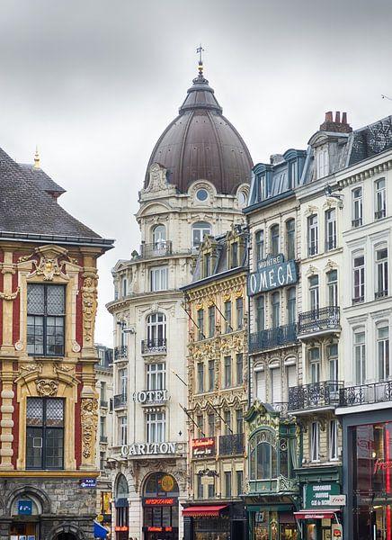 Lille Stadtzentrum von Mark Bolijn