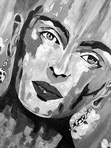 "Frida Kahlo ""Gesicht"""
