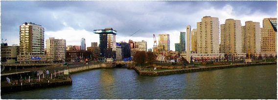 Leuvehavenbrug Rotterdam van Frans Jonker