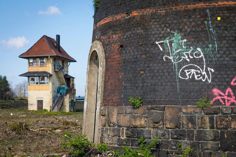 Verlassenes Bahngelände in Deutschland, urbex von Ger Beekes