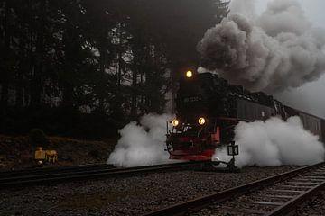 De Brockenbahn stapt op het gas. van Marc-Sven Kirsch