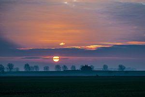 Magische zonsopkomst
