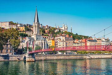 De stad Lyon van Manjik Pictures