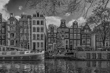 Aan de Amsterdamse grachten van Peter Bartelings Photography