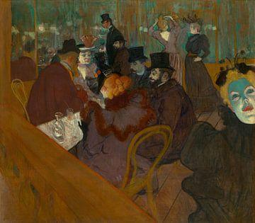 Im Moulin Rouge, Henri de Toulouse-Lautrec