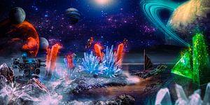 Kristallen Wereld van Ansgar Peter