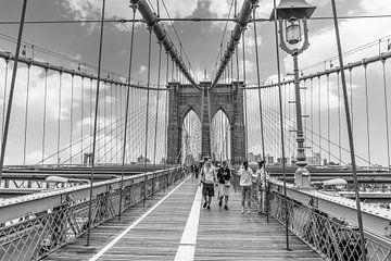 Brooklyn-Brücke in New York von Ivo de Rooij