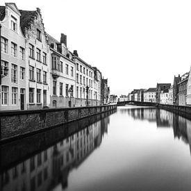 Architectuur van Brugge van Ilya Korzelius