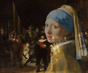Girl with the Pearl Earring in der Nachtwache