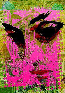 Black eyes in pink von PictureWork - Digital artist