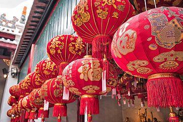Chinese lantaarns van Bernd Hartner