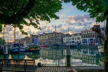 Wolwevershaven in Dordrecht sur Dirk van Egmond