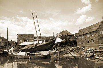 Oude scheepswerf van Nathalie van der Klei
